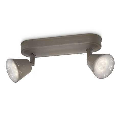 Philips 53252/26/16 - LED spotlámpa MYLIVING IDYLLIC 2xLED SMD/4W/230V