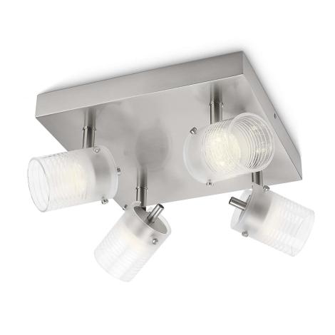 Philips 53269/67/16 - LED spotlámpa TOILE 4xLED/3W/230V