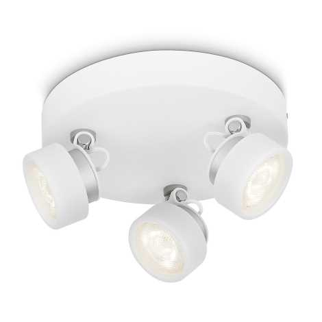 Philips 53279/31/16 - LED spotlámpa RIMUS 3xLED/3W/230V