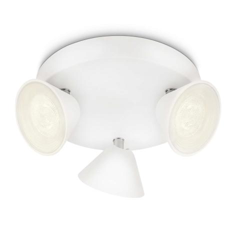 Philips 53289/31/16 - LED spotlámpa TWEED 3xLED/3W/230V