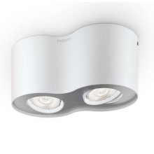Philips 53302/31/16 - LED spotlámpa PHASE 2xLED/4,5W/230V