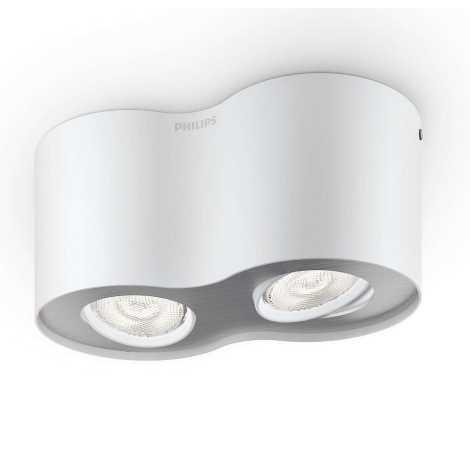 Philips 53302/31/16 - LED spotlámpa PHASE 2xLED/4,5W/230V