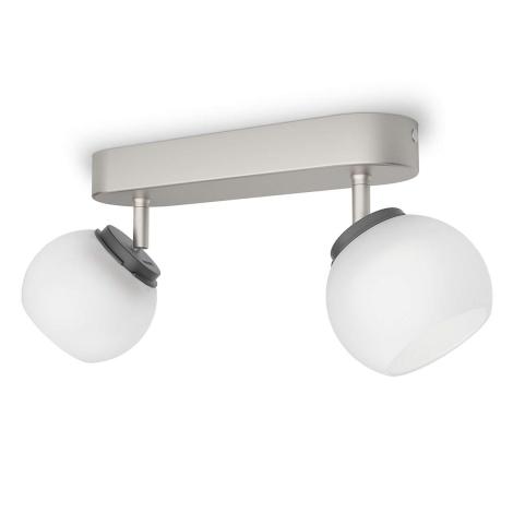 Philips 53322/17/16 - LED spotlámpa BALLA 2xLED/4W/230V