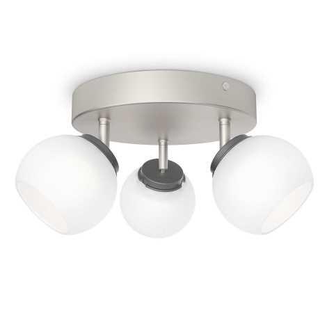 Philips 53323/17/16 - LED spotlámpa BALLA 3xLED/4W/230V