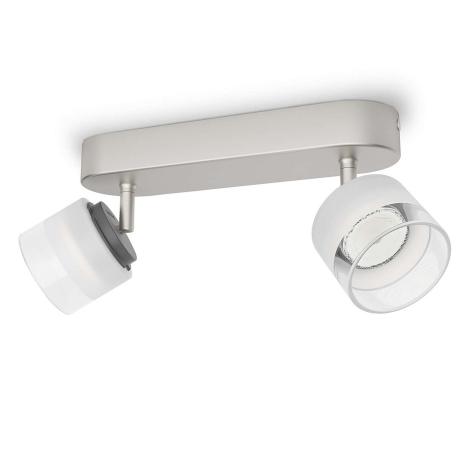 Philips 53332/17/16 - LED spotlámpa FREMONT 2xLED/4W/230V