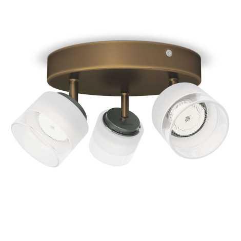 Philips 53333/06/16 - LED spotlámpa FREMONT 3xLED/4W/230V