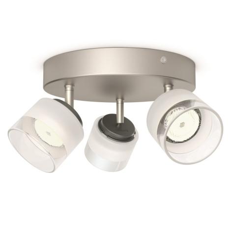 Philips 53333/17/16 - LED spotlámpa FREMONT 3xLED/4W/230V