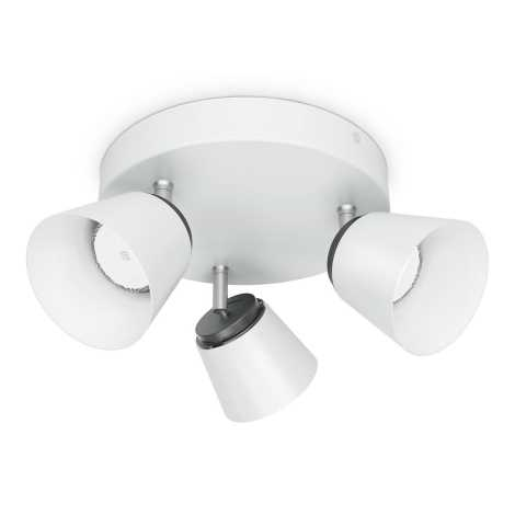 Philips 53343/31/16 - LED spotlámpa DENDER 3xLED/4W/230V