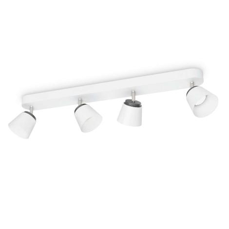 Philips 53344/31/16 - LED spotlámpa DENDER 4xLED/4W/230V