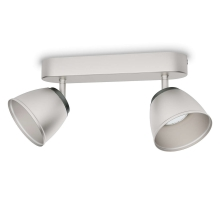Philips 53352/17/16 - LED spotlámpa COUNTY 2xLED/4W/230V