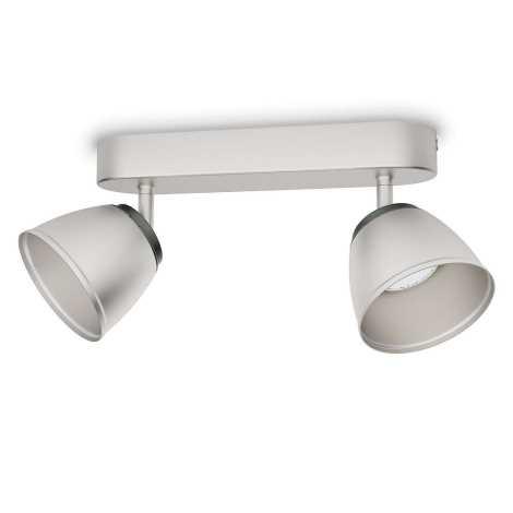 Philips 53352/17/16 - LED spotlámpa COUNTY 2xLED/4W/230V