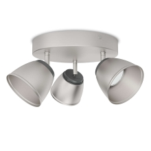 Philips 53353/17/16 - LED spotlámpa COUNTY 3xLED/4W/230V