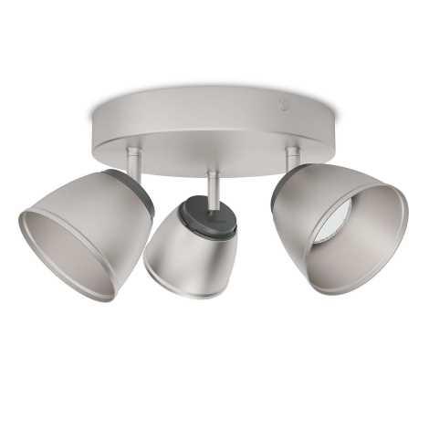 Philips 53353/17/16 - LED spotlámpa COUNTY 3xLED/4W/230V
