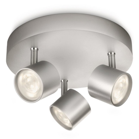 Philips 56243/48/16 - LED spotlámpa MYLIVING STAR 3xLED/4W/230V
