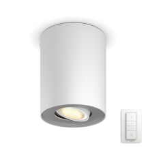 Philips 56330/31/P7 - LED Spotlámpa PILLAR HUE 1xGU10/5,5W/230V