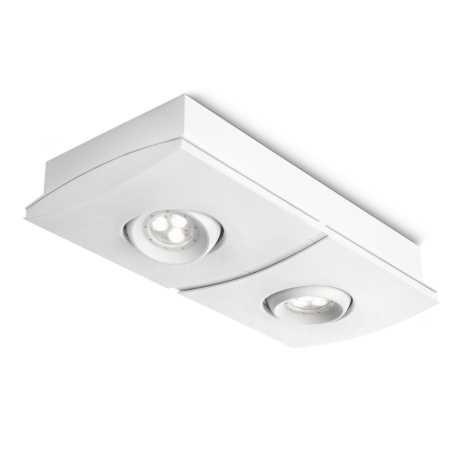 Philips 56402/31/13 - LED-es alkony spotlámpa INSTYLE ELGAR 2xLED/7,5W/230V