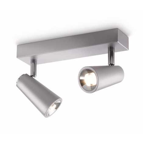 Philips 56462/48/16 - LED spotlámpa DELTYS 2xLED/5W/230V