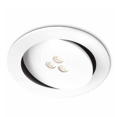Philips 57962/31/16 - LED Fürdőszobai mennyezeti lámpa SCULPTOR 1xLED/6W/230V