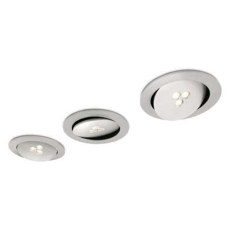 Philips 57963/48/16 - KÉSZLET 3x LED Fürdőszobai mennyezeti lámpa MYLIVING SCULPTOR 1xLED/7,5W/230V