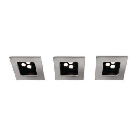 Philips 57972/17/16 - KÉSZLET 3xLED Fürdőszobai mennyezeti lámpa MYLIVING STARDUST 1xLED/7,5W/230V