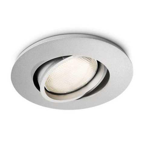 Philips 57977/48/16 - Fürdőszobai mennyezeti lámpa MYLIVING SEGIN 1xGU10/10W/230V