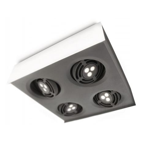 Philips 57986/31/16 - LED Mennyezeti lámpa INSTYLE RADAR 4xLED/6W/230V