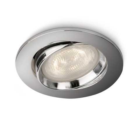 Philips 59031/11/16 - LED Spot süllyesztett lámpa MYLIVING ELLIPSE 1xLED/4W/230V króm