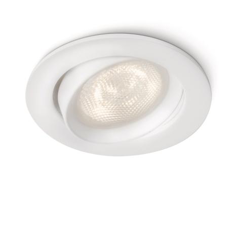 Philips 59031/31/16 - LED Spot süllyesztett lámpa MYLIVING ELLIPSE 1xLED/4W/230V fehér