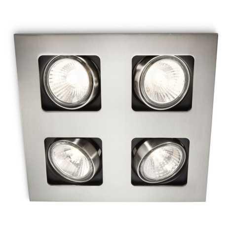 Philips 59304/17/16 - LED fürdőszobai süllyesztett lámpa ARTEMIS 4xLED-GU10/10W + 4xGU10/50W/230V