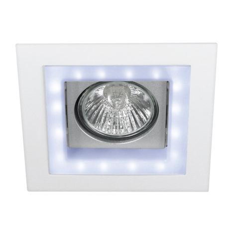 Philips 59530/31/81 - LED süllyesztett lámpa ALTEA 1xGU10/35W + LED/0,36W