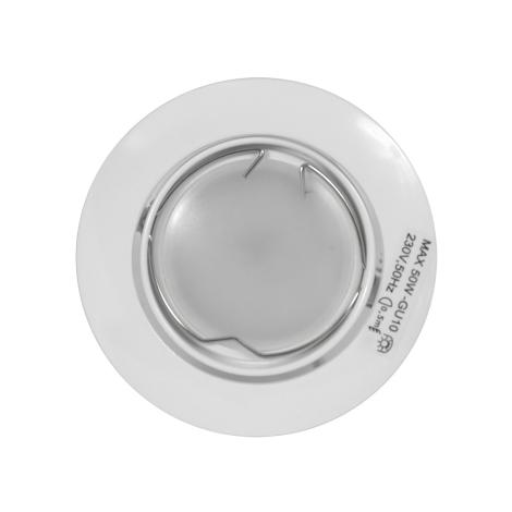 Philips 59770/31/14 - LEDfürdőszobai süllyesztett lámpa BOMBAY 1xGU10-LED/6W/230V