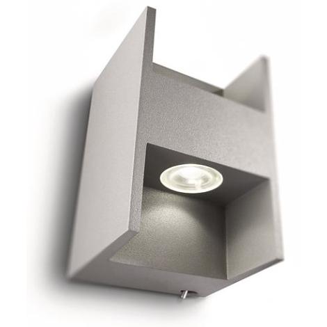 Philips 69087/87/16 - LED Fali lámpa MYLIVING METRIC 2xLED/2,5W/230V
