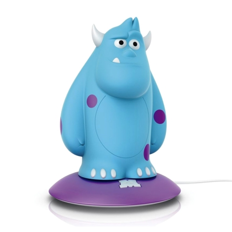 Philips 71705/83/16 -  DISNEY SOFTPAL SULLEY LED-es gyerek lámpa LED/0,18W/230V