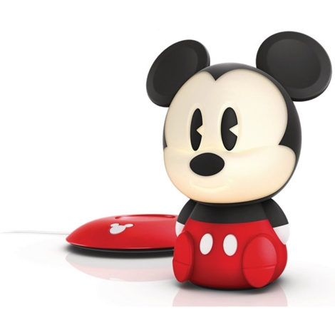 Philips 71709/30/16 -  LED-es gyerek lámpa DISNEY SOFTPAL MICKEY LED/1W