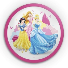 Philips 71760/28/16 - DISNEY PRINCESS LED-es gyerek fali lámpa 1xLED/4W