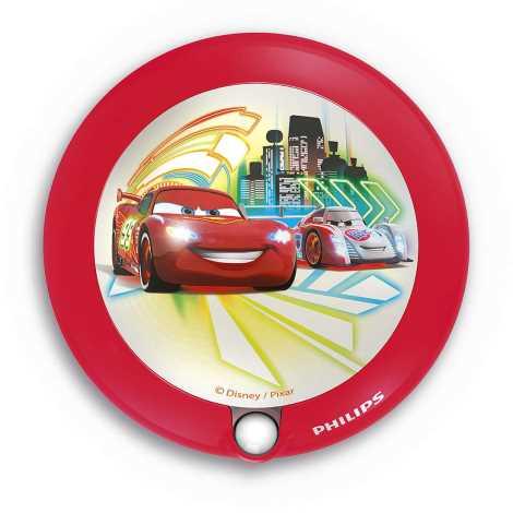 Philips 71765/32/16 - Gyermek tájekoztató  LED lámpa DISNEY CARS 1xLED CARS/0,06W/3V