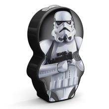 Philips 71767/97/16 - Gyereklámpa STAR WARS STORMTROOPER LED/0,3W