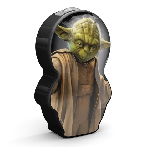 Philips 71767/99/16 - Gyereklámpa STAR WARS YODA LED/0,3W