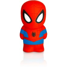Philips 71768/40/16 - LED gyermek lámpa DISNEY SPIDER-MAN 2xLED/0,2W/2xAAA