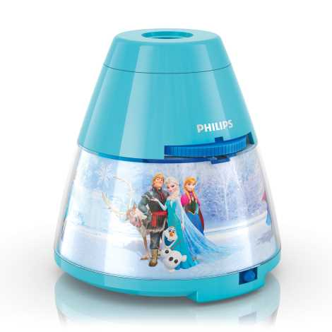 Philips 71769/08/16 - Gyerek projektor DISNEY FROZEN LED/0,1W/3xAA