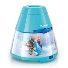 Philips 71769/08/16 - LED gyerek projektor DISNEY FROZEN 1xLED/0,1W/3xAA