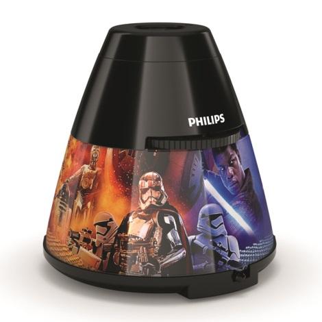Philips 71769/30/P0 - LED gyerek projektor DISNEY STAR WARS LED/0,1W/3xAA