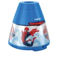 Philips 71769/40/16 - LED Gyermek projektor MARVEL SPIDER MAN LED/0,1W/3xAA
