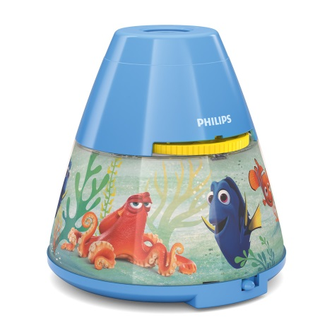 Philips 71769/90/16 - LED Gyerek projektor DISNEY DORY LED/0,1W/3xAAA
