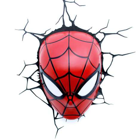 Philips 71786/40/16 - Gyereklámpa MARVEL SPIDER-MAN LED/3xAA