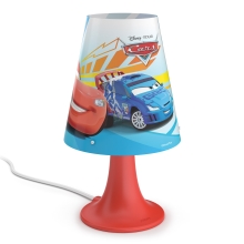 Philips 71795/32/16 - Asztali lámpa DISNEY CARS LED/2,3W/230V