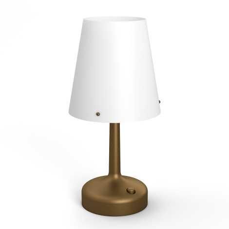 Philips 71796/06/P0 - Asztali lámpa MYLIVING LED/0,6W/3xAA
