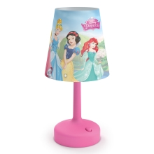 Philips 71796/28/16 - Asztali lámpa DISNEY PRINCESS LED/0,6W/3xAA