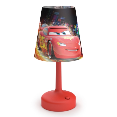 Philips 71796/32/16 - Asztali lámpa DISNEY CARS LED/0,6W/3xAA
