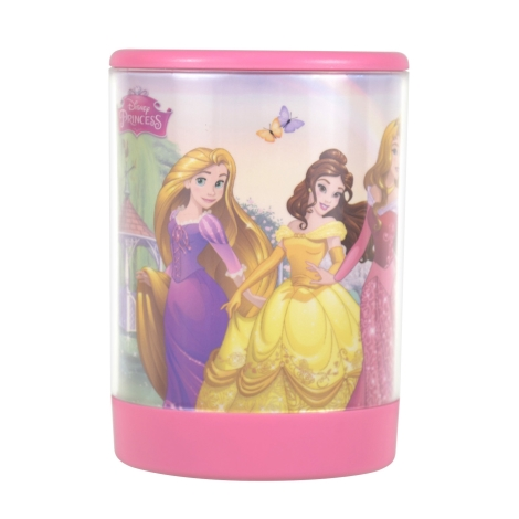 Philips 71923/28/16 - Gyereklámpa DISNEY PRINCESS LED/2xAA